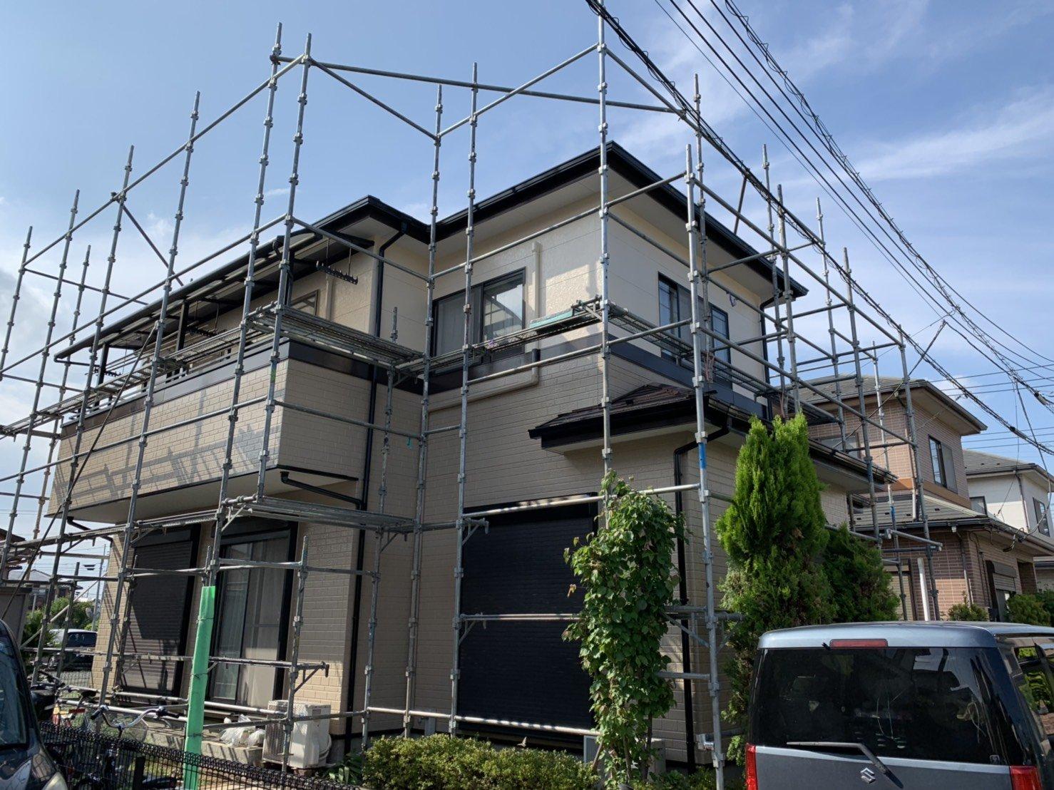 シリコン屋根、外壁、塗装