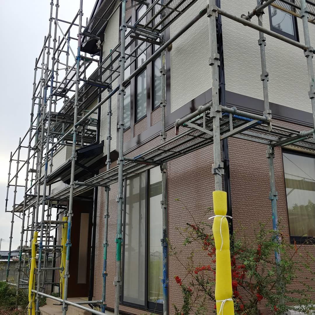 外壁塗装工事  2液型シリコン